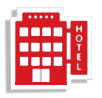 hotels- red