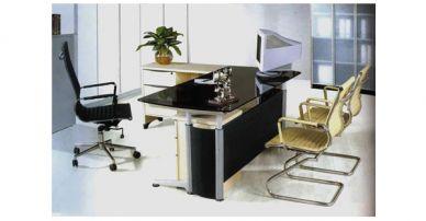 i69 glass desk