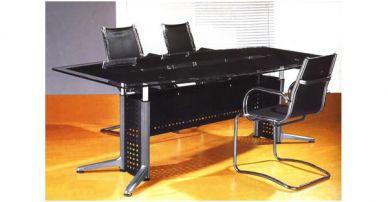 i54 glass meeting table
