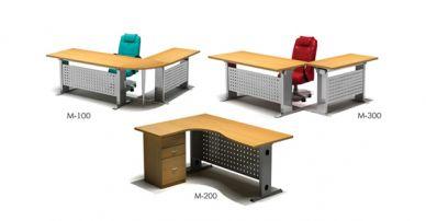 i75 metal rack desk