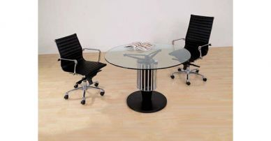i46 glass meeting table